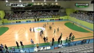 Sporting-Porto Petardo no 3º jogo playoff Campeonato Andebol 2014-2015