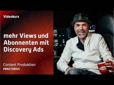 YouTube Analyse: mehr Views und Abonnenten durch Videovorschläge und Discovery Ads