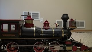 Bachmann Grizzly Flats (Emma Nevada) Large Scale 2-6-0 Steam Loco and Cars