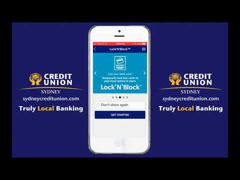Sydney Credit Union Lock N Block