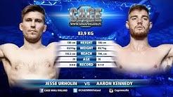 CAGE 43 Jesse Urholin vs Aaron Kennedy Full Fight MMA