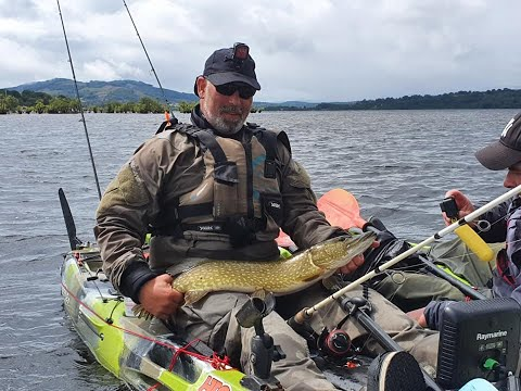 Loch Lomond Predator Fishing From Kayak 2020