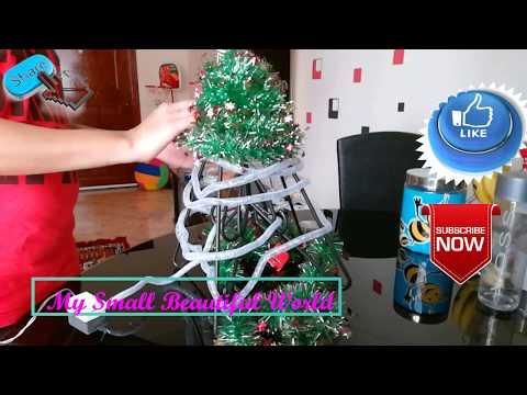 Christmas Tree DIY idea for small flat    Live your style    christmas Tree DIY
