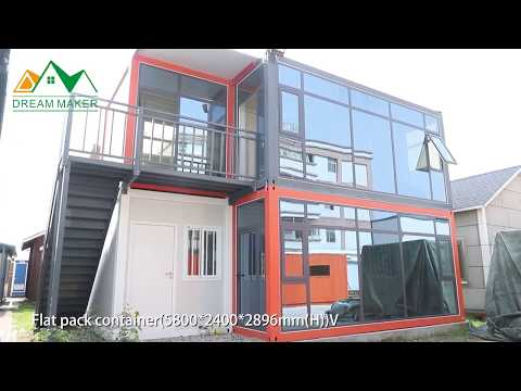 "Flat Pack Container House Of ""Dream Maker"""