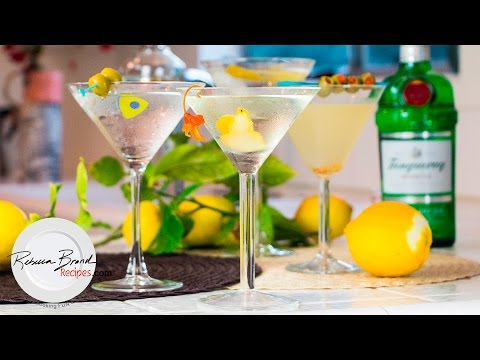 Martini Recipes for Gin or Vodka  Classic- Dry -Wet -Dirty  BEST RECIPES