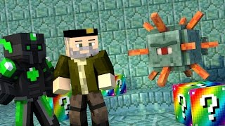 Minecraft: EL JEFE  GUARDIÁN!! c/ sTaXx RAINBOW Lucky Blocks Epic Race