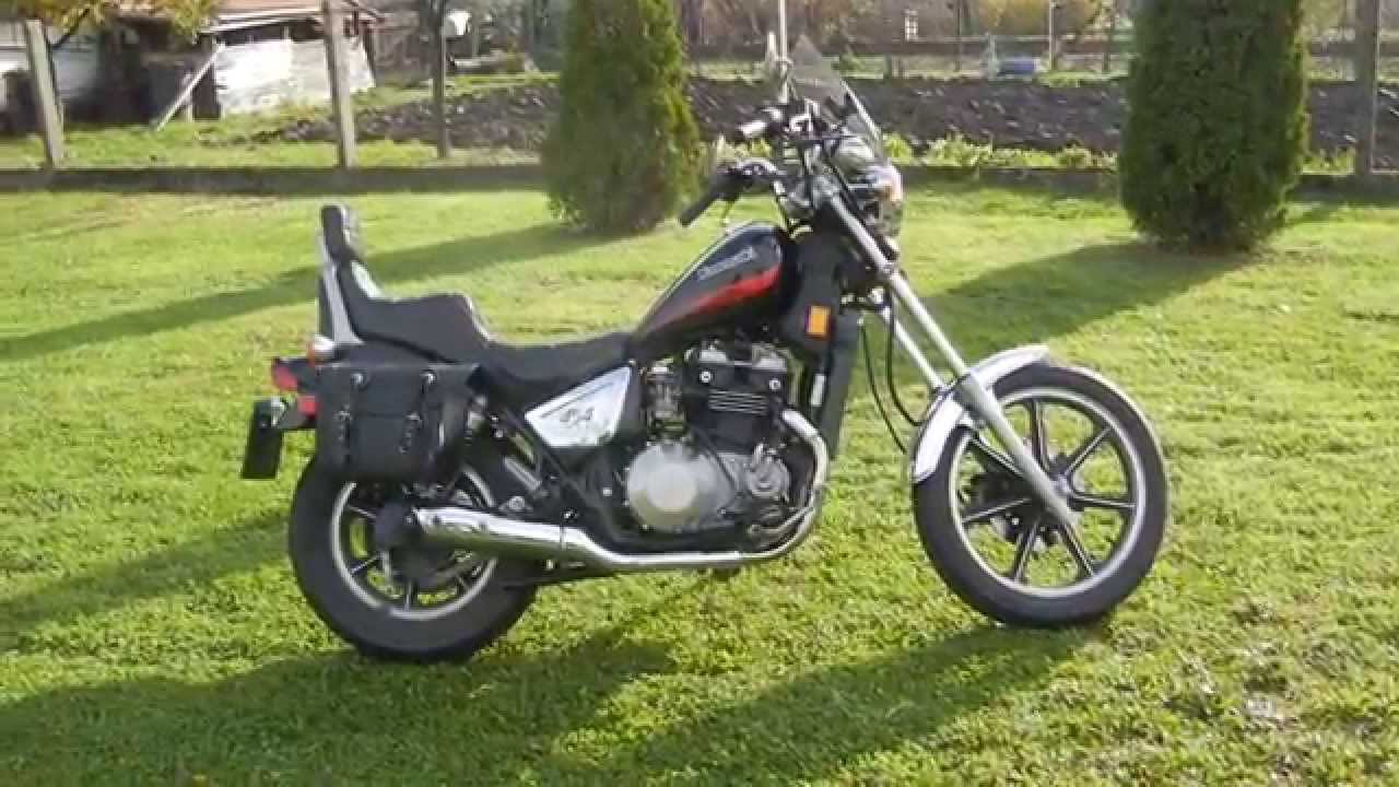 Kawasaki 454 LTD 1986 - YouTube