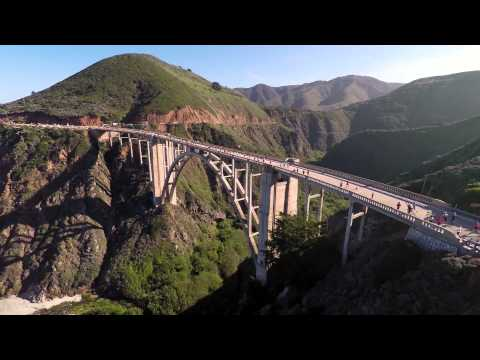 The 30th Annual Big Sur International Marathon Aerial Reel
