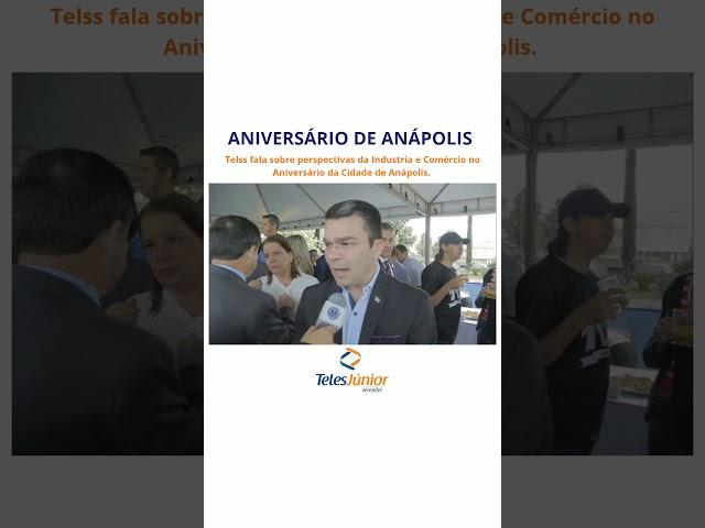 Teles Júnior || ANIVERSÁRIO DE ANÁPOLIS