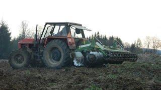 Ursus 1224+Tolmet ASTAT 300, czyli uprawa  pod kukurydzę 2015