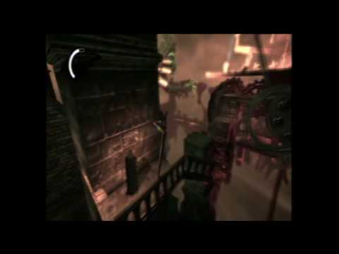 Batman Arkham Asylum Secret Achievement How to beat scarecrow 2nd time Recurring nightmare