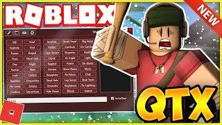 ROBLOX EXPLOIT/HACK: QTX [TRIAL!] GETOBJECTS, BOÎTE À OUTILS, CLICK-DESTROY - PLUS!