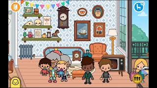 Toca Boca. Ева и её семья. || 3 сезон 18 серия ||~♡ Тока бока особняк и домик ♡~