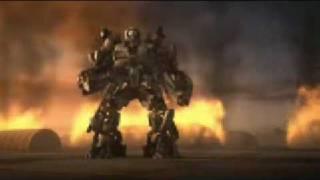 Transformers The Game cut scene Decepticon