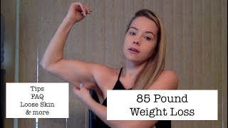85 Pound Weight Loss - 6 Tips on What I Did to Lose Weight &  FAQ  - Before and After