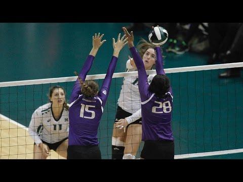 Rainbow Wahine Volleyball 2016 - # 14 Hawaii Vs #6 Washington