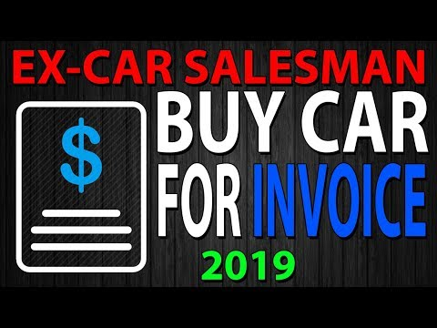 How To Buy A Car For Invoice