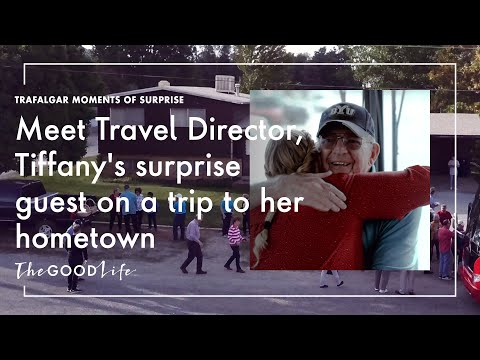 Trafalgar Moments of Surprise | Meet Trip Leader, Tiffany's surprise guest on a trip to her hometown