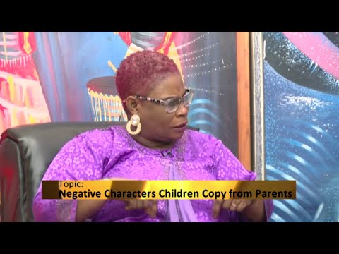 Negative characters Children copy from Parents - Awaresem on Adom TV (29-7-20)