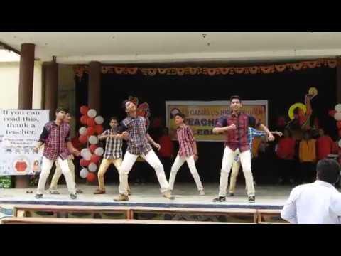 SGHS kazipet Teachers day 2018 - Topaz group dance