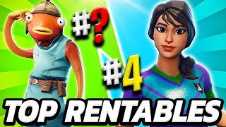 TOP 10 THE BEST SKINS QUALITY PRICE 💸 THE MOST COST EFFECTIVE SKINS OF FORTNITE