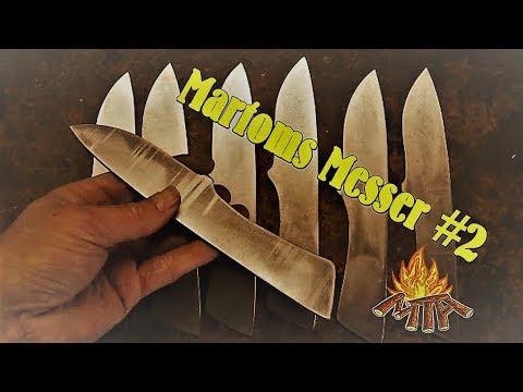 MARTOMS-ABENTEUER-MESSER (Teil 2/X) | Wir bauen unser eigenes Messer | DIE KLINGE wird ausgearbeitet