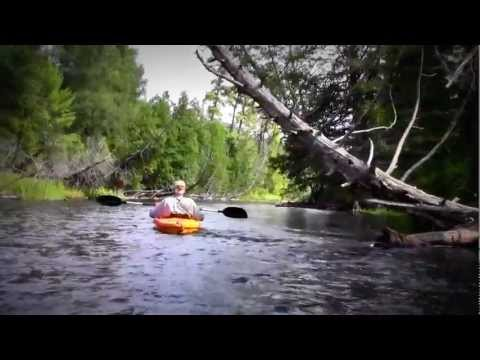 Kayaking the Au Sable River - Paddlebrave to Smith Bridge