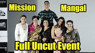 Mission Mangal Official Trailer Launch | Full Event | Akshay | Vidya | Sonakshi | Taapsee