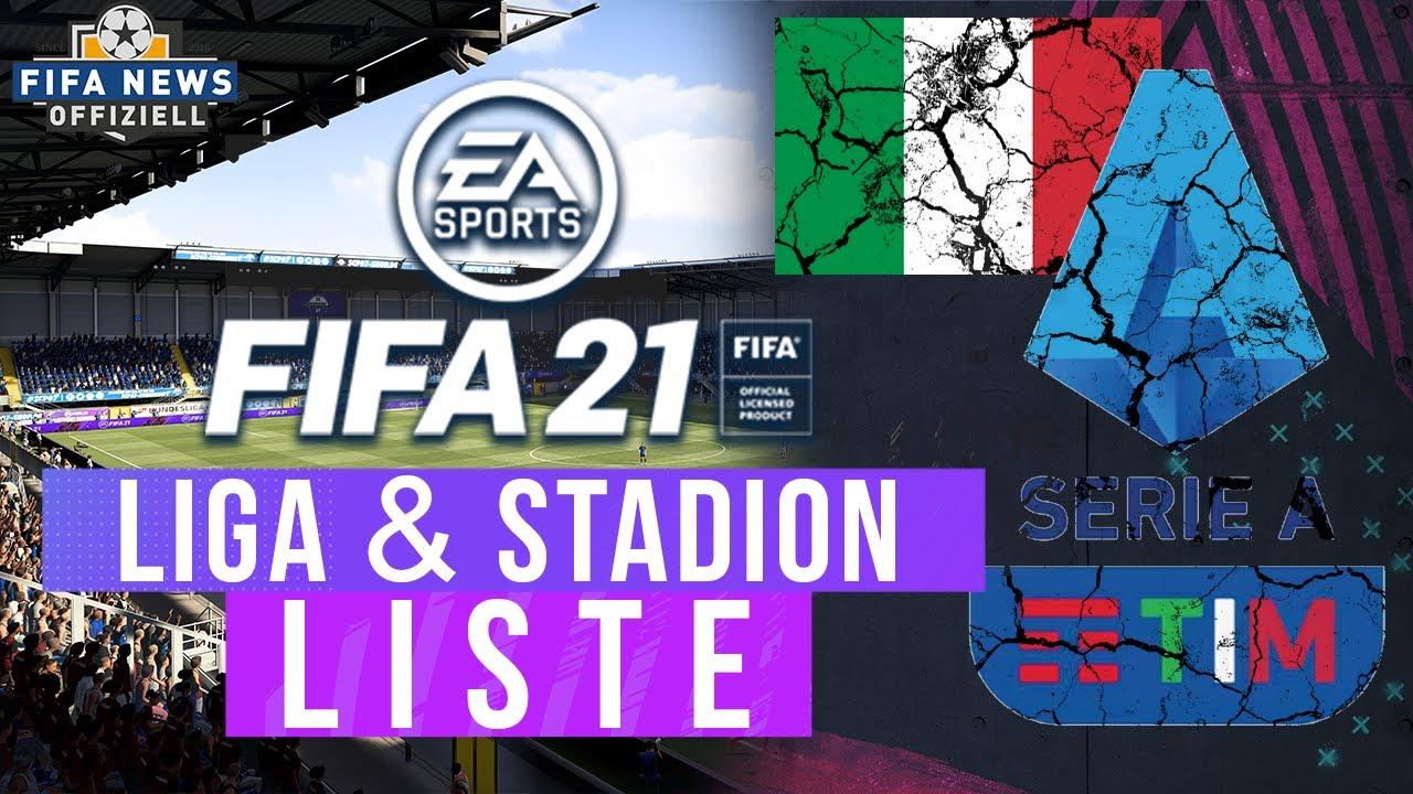 FIFA 21 NEWS ● OFFIZIELL! STADION- & LIGALISTE ? KEINE NEUE LIGA!