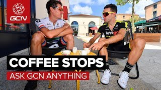 When Should You Stop For Coffee On A Ride? | Ask GCN Anything
