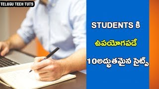 10 best sites for students telugu https://www.freecodecamp.org http...