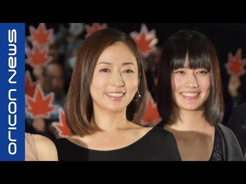松雪泰子、現代版『古都』に自信「日本文化の奥深さ体験して」 映画『古都』初日舞台挨拶