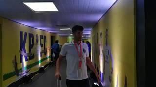 KBFC v ATK | KBFC Players Entering the Stadium | Hero ISL 2019-20