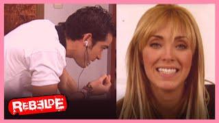 Rebelde: ¡Mía descubre que Miguel se está viendo con Sabrina!  | Escena C314-C315-C316 | Tlnovelas