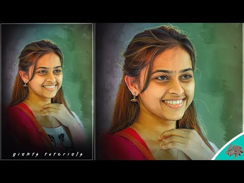 Sri Divya | Digital Painting In Photoshop Tutorials