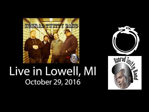 Konrad Twitty Band - LIVE in Lowell, MI