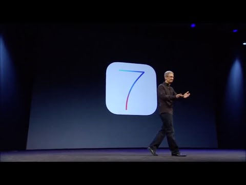 2013 - Tim Cook - iOS 7 Introduction