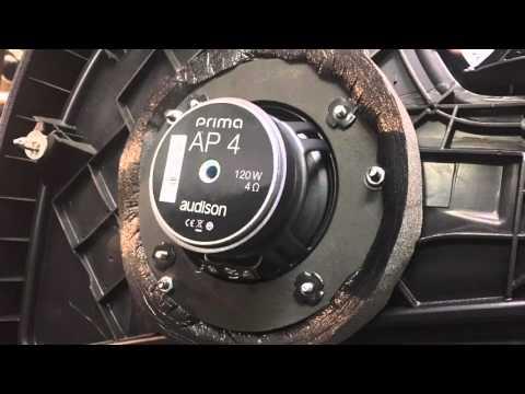 BMW 1 e87 audio upgrade with Audison & Kenwood