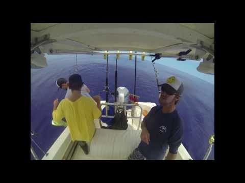 35 Mahi fishing off Kaneohe Hawaii