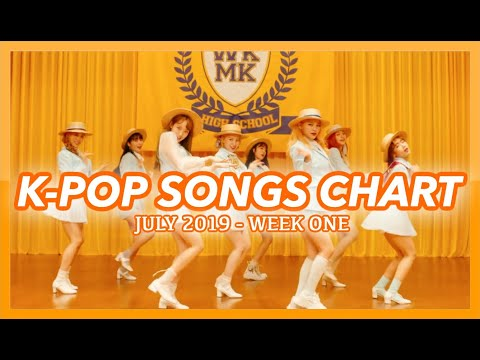 TOP 100 K-POP SONGS CHART  JULY 2019 WEEK 1