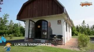Luksus vikingehytte på Hasmark Strand Camping