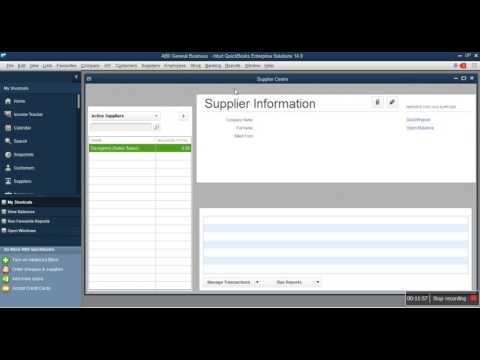 Enter Opening Balance In QuickBooks - Equity, Receivables, Payables, Banks & VAT