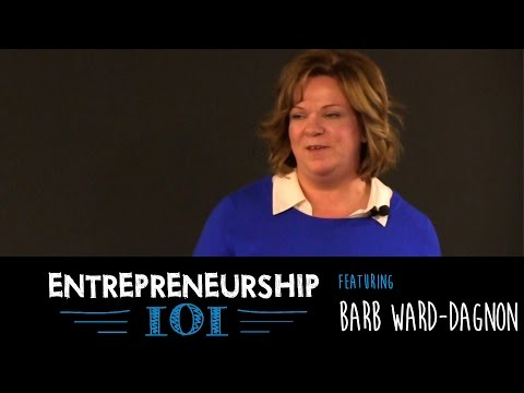 Entrepreneurship 101 Season 3 - Lived it Lecture with Barb Ward-Dagnon, Medicor Research Inc.