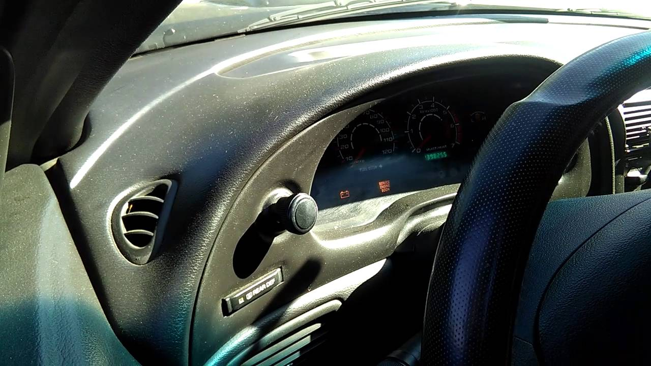 Anti Theft Light On Mustang How To Reset Ecuwatch All The Video 2003 Mach 1 Fuse Box Step By