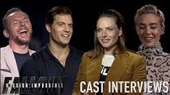 Mission: Impossible – Fallout Cast Interviews! Henry Cavill, Simon Pegg, Rebecca Ferguson