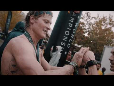 Motivational Speaker Coach Pain At The OCR World Championship in Blue Mountain Canada