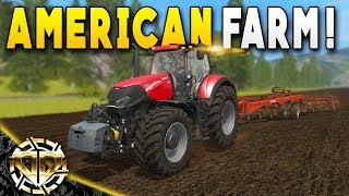 Farming Simulator 17 Gameplay! Today, we're back on the American Ou...