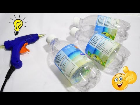 Super Easy Recycled Bottle Craft| Best Reuse Idea With Plastic Bottle How To Recycle Plastic Bottle