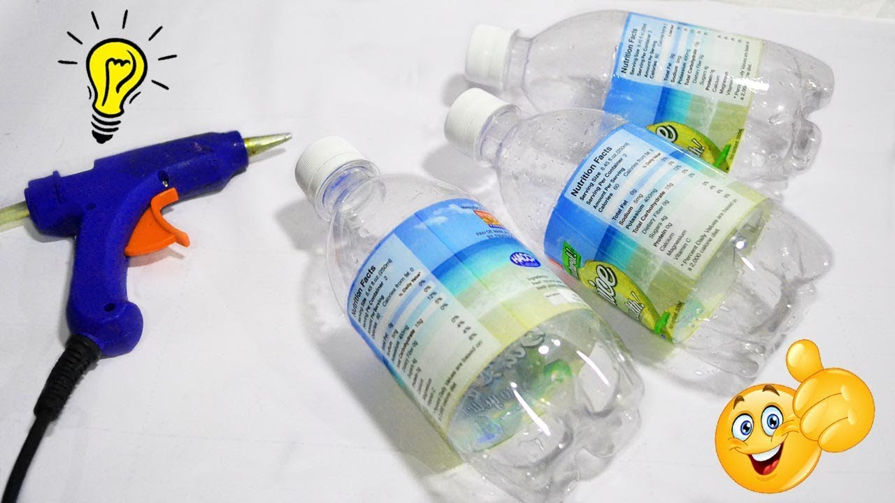 Super Easy Recycled Bottle Craft Best Reuse Idea With Plastic