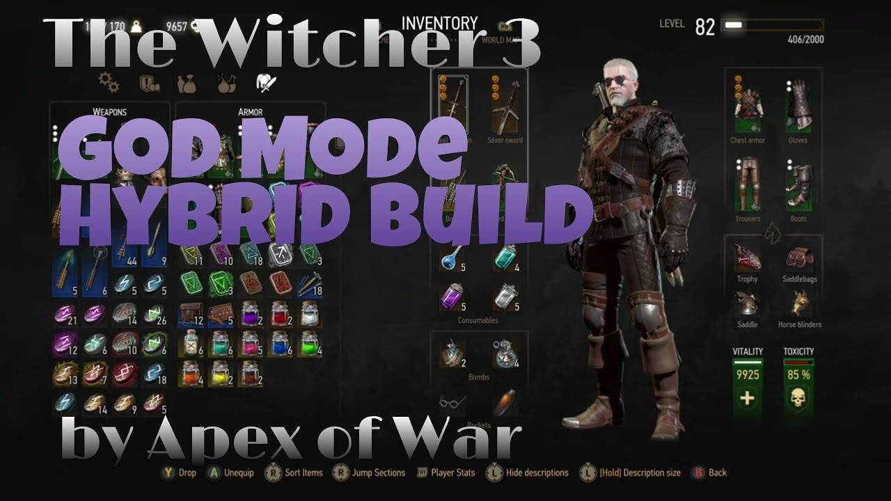 Witcher 3 God Mode